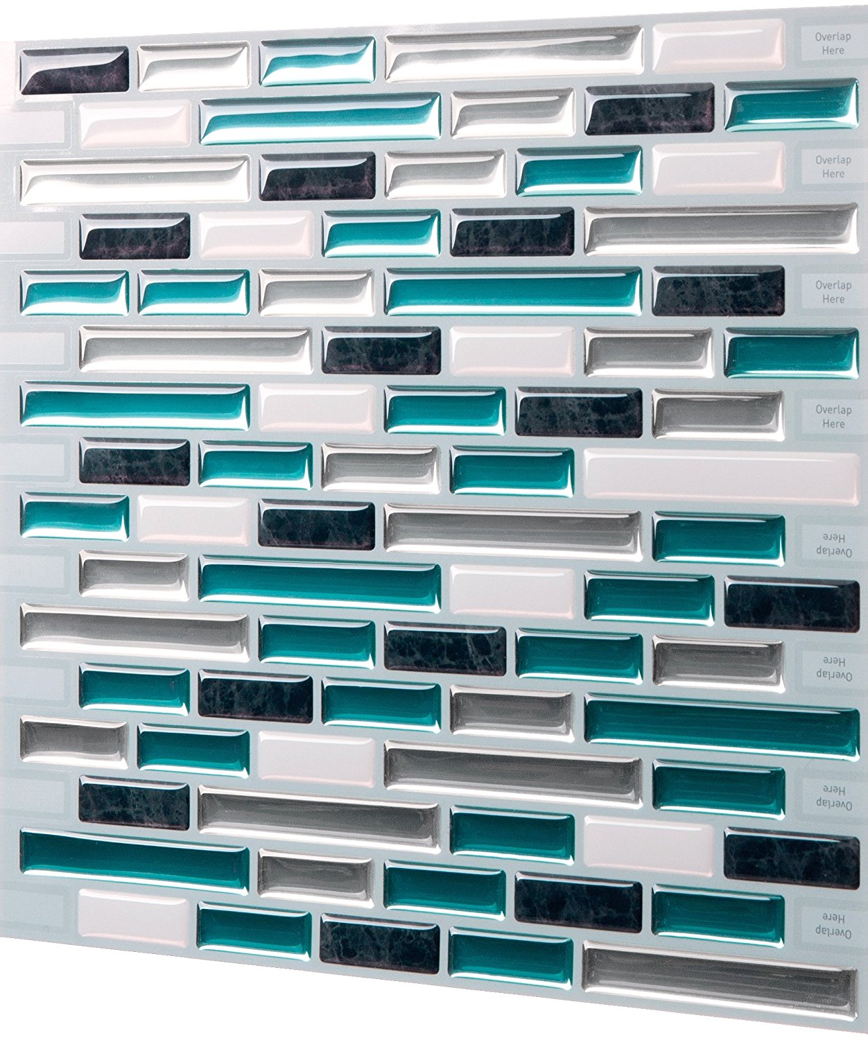 Tic Tac Tiles Premium 3d Peel Stick Wall Tile In Como Bay Tic