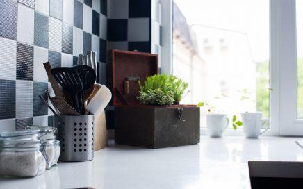 Kitchen Tiles and Storage