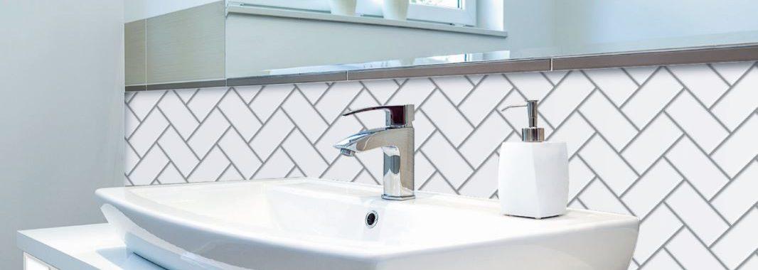 Herringbone Mono Bathrooms and Kitchen Tiles
